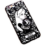 Ring Buckle Lazy Bracket Girl 3D Relief Pattern Phone Case for iPhone 6/6S/6 Plus/6S Plus