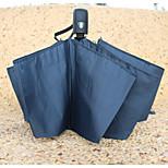 Auto Open Umbrella Solid Automatic Umbrella Windproof Rainproof Umbrella Folding Umbrella Business Men