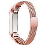 2016 Newest Milanese Loop Tortuous Magnet Watchband Steel Band For Fitbit Alta