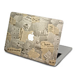MacBook Front Decal Sticker Newspaper For MacBook Pro 13 15 17, MacBook Air 11 13, MacBook Retina 13 15 12