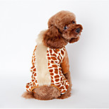 Dog Coat / Pants Black / Brown / Pink Winter Animal Keep Warm, Dog Clothes / Dog Clothing
