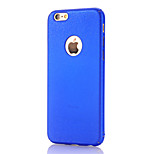 Para Funda iPhone 6 / Funda iPhone 6 Plus Other Funda Cubierta Trasera Funda Brillante Dura Policarbonato AppleiPhone 6s Plus/6 Plus /