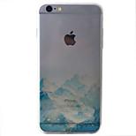 Für iPhone 6 Hülle / iPhone 6 Plus Hülle Muster Hülle Rückseitenabdeckung Hülle Landschaft Weich TPU AppleiPhone 6s Plus/6 Plus / iPhone