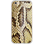 Pour Coque iPhone 6 / Coques iPhone 6 Plus Motif Coque Coque Arrière Coque Animal Dur Polycarbonate AppleiPhone 6s Plus/6 Plus / iPhone
