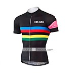 KEIYUEM Cycling Jersey/ Tops Unisex Short Sleeve/ Breathable / Quick Dry / Rain-Proof /Waterproof Zipper#K185