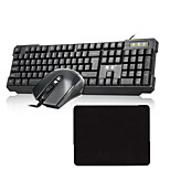 Universal  USB Pofessional Office Gaming Mouse Mice Pad 3 Pieces a Set