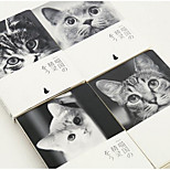 Mu-Color Optical Pickup A5 Bare Hands This Cute Kitty Post Graffiti This Blank Retro Wire-Bound Notebook