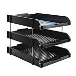 Three Layers Combination Of PP File Document Tray Office Documents Tray For Office