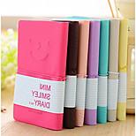 Korea Stationery Smiley Colorful Mini Notebook