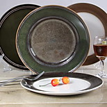 10.5 inch Characteristics of Ceramic Plate (Random Style)