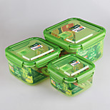 Kitchen Container Food Storage Containers with Lock Lids