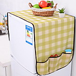 Bear Plaid Refrigerator Dust Cover Refrigerator Cover Universal Cover Towel Universal Pouch Home