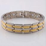 Armbänder Hologramm-Armband Edelstahl Modisch Alltag / Normal Schmuck Geschenk Silber,1 Stück