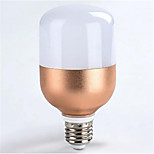 HRY® 9W E27 800LM Warm Cool White Color LED Energy Saving Light Bulb Globe Lamp Rose Gold Shell (AC160-265V)