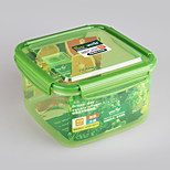 Microwave Safe Square Food Freezer Container 2.9 Liter