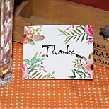 50 Price Korea Small Fresh Flowers Thank You Folded Cards/Gift Cards/Gift Cards/Greeting Cards