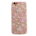 Air Cushion Shell Matte TPU Three-Dimensional Relief  Flower Phone Case for iPhone 6/6s/6 Plus/6S Plus