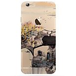 Creative Art Painted Natural Landscape Pattern TPU Phone Case for iPhone 5/5S/SE/6/6S/6S Plus/6S Plus