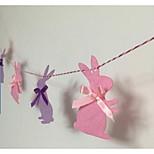 Canvas Wedding Decorations-7Piece/Set Unique Wedding Décor Wedding / Birthday Fairytale Theme Pink / Purple