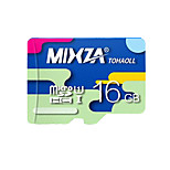 MIXZA 16 GB Class 10 Micro SD  TF Flash Memory Card High Speed Genuine Read Speed: 80MB/s Waterproof