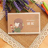 Bf03 Hot Pouches Of The Youth Quotations / Portable Notebook / Laptop Notebook Korea Stationery
