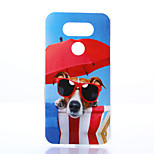 Dog Pattern TPU Material Phone Case for LG G5