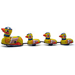 Duck Wind-up Toy Leisure Hobby  Metal Yellow For Kids