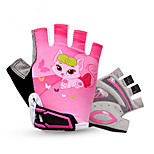 Gloves Cycling/Bike Unisex Fingerless Gloves Anti-skidding / Wearable / Breathable Summer Pink / Blue / Purple S / M / L