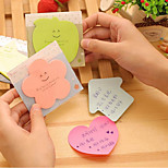 South Korea Creative Stationery Cute Little Book Candy-Colored Sticky Notes