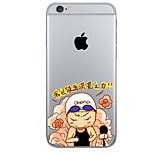 Para Funda iPhone 6 / Funda iPhone 6 Plus Diseños Funda Cubierta Trasera Funda Palabra / Frase Suave TPU AppleiPhone 6s Plus/6 Plus /