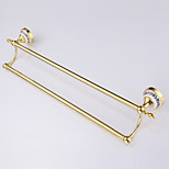 Towel Bar / Gold / Wall Mounted /62*14.5*12cm /Stainless Steel / Zinc Alloy /Contemporary /62cm 14.5cm 0.60
