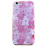 Plum Blossom Love Rhinestone Embossed Frosted TPU Phone Case for iPhone 6 6S 6 Plus 6S Plus