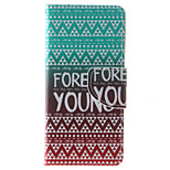 Forever Young Pattern PU Leather Full Body Case with Stand and Card Slot for iPhone 6s Plus/6 Plus/6s/6