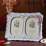 Resin Crafts European-style Home Furnishing Relief Rose 6 Inch Photo Frame