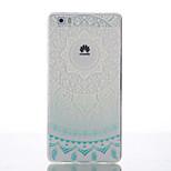 Back Cover Ultra-thin Mandala TPU Soft Case Cover For Huawei Huawei P8 / Huawei P8 Lite