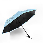 2016 Spirit Of Da Vinyl Ultralight Uv Umbrellas Folded Umbrella Rain Or Shine Dual-Use