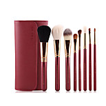 8pcs Makeup Brushes Set Goat Hair Full Coverage Wood Face ShangYang