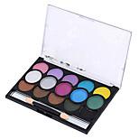 15 Color Eye Shadow Tray Smoked Earth Color Restoring Ancient Ways Makeup Cosmetics Box