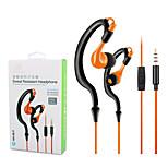 ZONOKI KM-R02 Sports Earphones Running Waterproof Sweatproof with MIC in-ear Headset Headphone