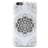 HD Painted Flower Pattern Material TPU Phone Case For iPhone SE 5s 5 6s 6 6s Plus 6 Plus