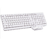 DD62 1000Dpi Wired Double USB  Port Game Keyboard & Mouse