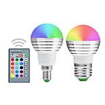 5W E14 / E26/E27 Lampadine globo LED A50 1 Illuminazione LED integrata 300-450 lm Colori primariDecorativo / Intensità regolabile /