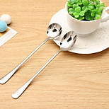 Long-Handled Spoon Kitchen Stainless Steel Office Coffee Spoon Stirring Spoon Long Spoon