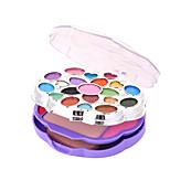 Colorful Flowers Beauty Makeup Powder Makeup Box Set