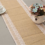 Linen Table Runners Lace Tablecloths Tables Flag Christmas Party Wedding Decoration Craft