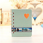 T1304 4012 Korean Version Of The Simple Coil Convenient Hard Cover Notebook Diary Notepad