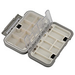Anmuka Top Quality Waterproof Plastic Impact Resistant Fly Fishing Box Fishing Tackle Box Spinner Bait