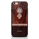 Funda Trasera Other Impresión de encaje TPU Suave Printing, Woodcut, Lace Cubierta del caso para Apple iPhone 6s Plus/6 Plus / iPhone 6s/6