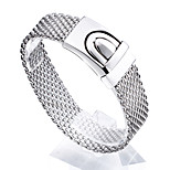 2016 New Fashion Jewelry Men's High Polishing 316L Stainless Steel Mesh Bracelets Best Friendship Gift