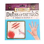 Accessori Halloween Costumi da zombie Feste/vacanze Costumi Halloween Stampa Altri accessori Halloween Unisex